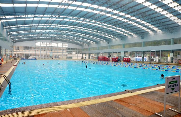 Bể bơi Olympia Tăng Bạt Hổ