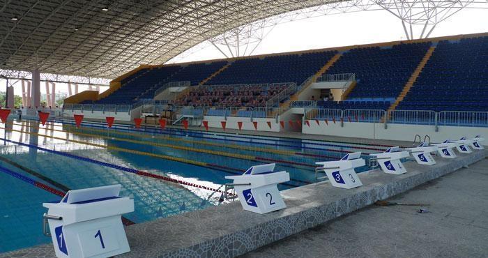 Bể bơi Thành Tích Cao được thiết kế chuyên nghiệp