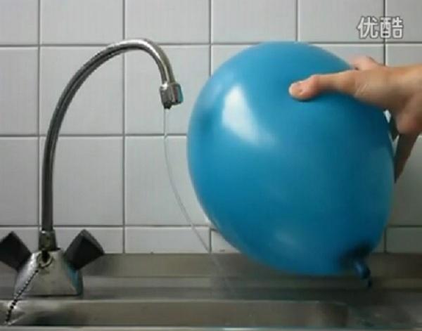 Thí nghiệm bẻ cong dòng nước