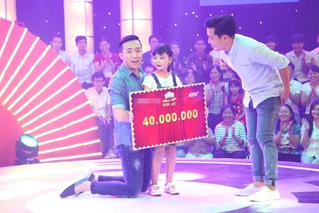 Bé Thanh Hà nhận được 40 triệu đồng từ chương trình