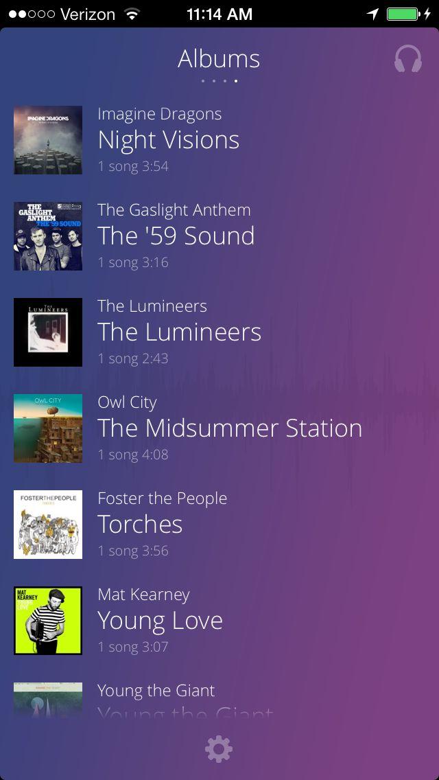 Ứng dụng nghe nhạc Beat Music Player