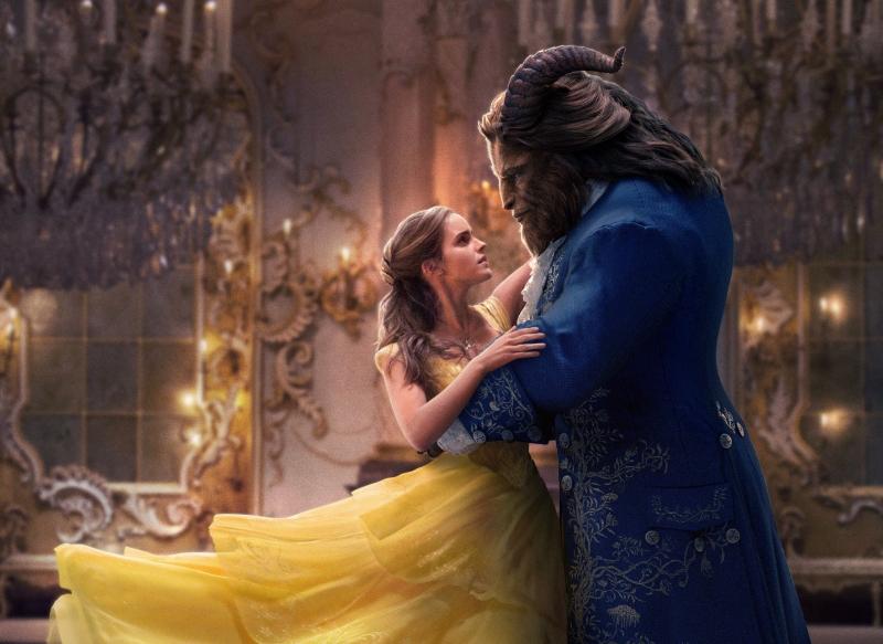 Một cảnh quay ấn tượng trong Beauty and the Beast