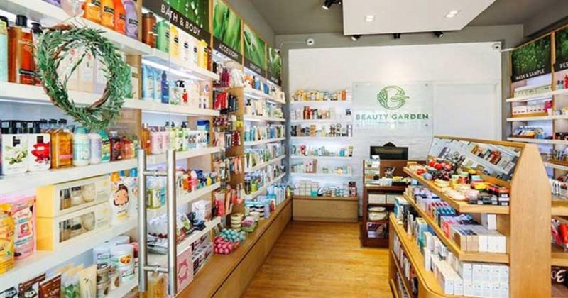 Shop mỹ phẩm Beauty garden