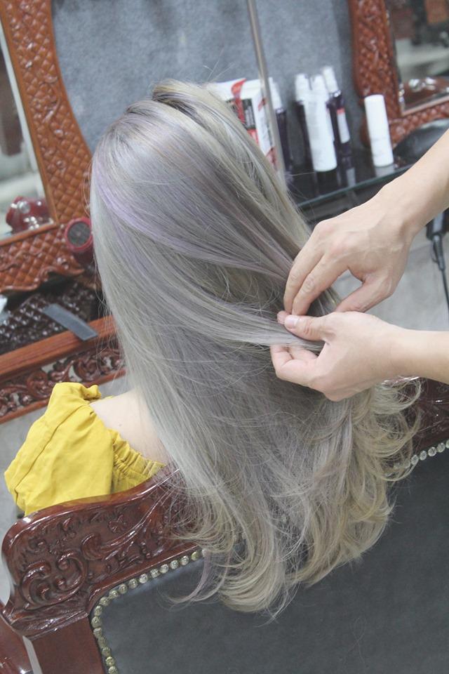 Beauty salon Quang Adoan cam kết màu lên chuẩn, đẹp như hình.