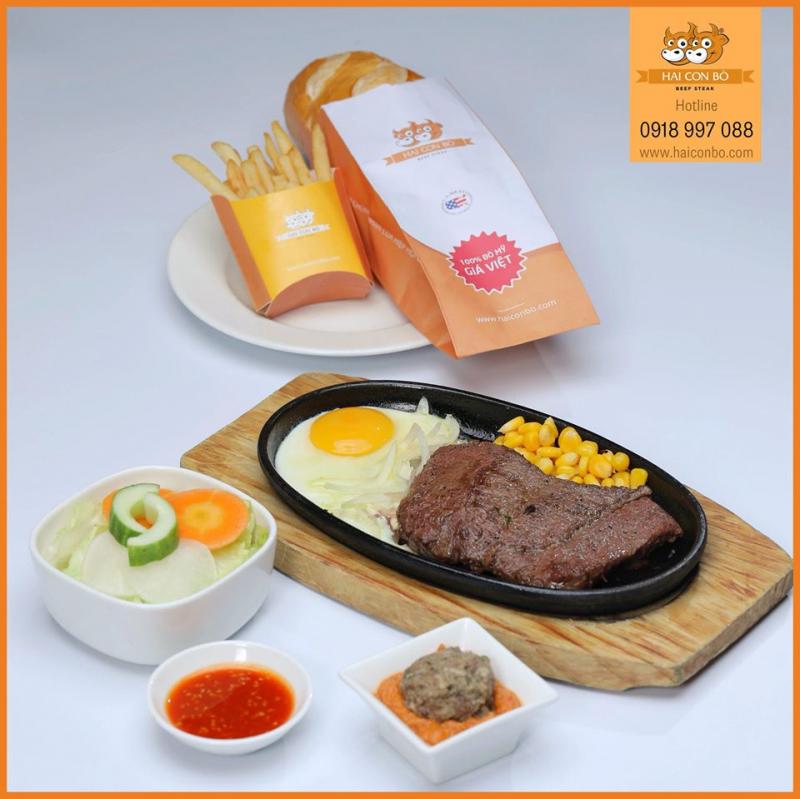 Để phục vụ thực khách trọn vẹn nhất, hệ thống Beefsteak Hai Con Bò mở nhiều chi nhánh tại Sài Gòn