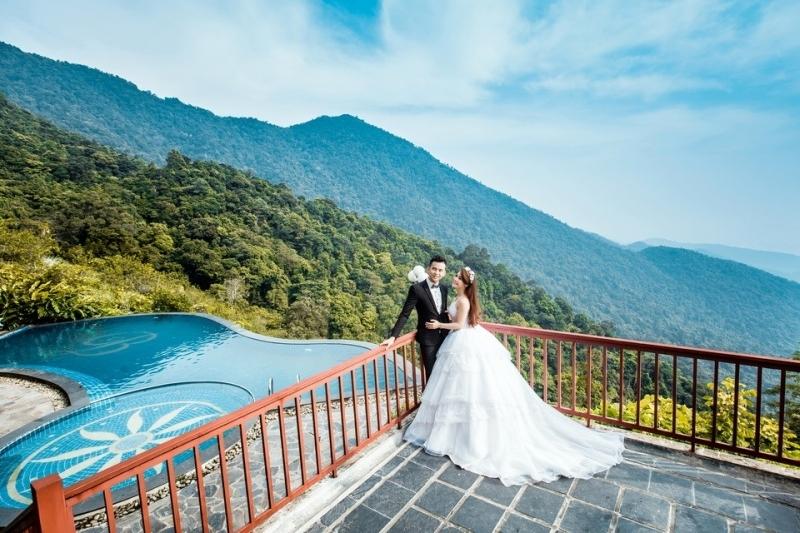 Belvedere Tam Dao Resort thiên đường chụp ảnh cưới cho các cặp đôi