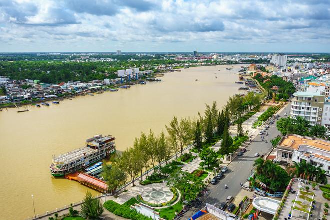 Bến Ninh Kiều vào buổi sáng...