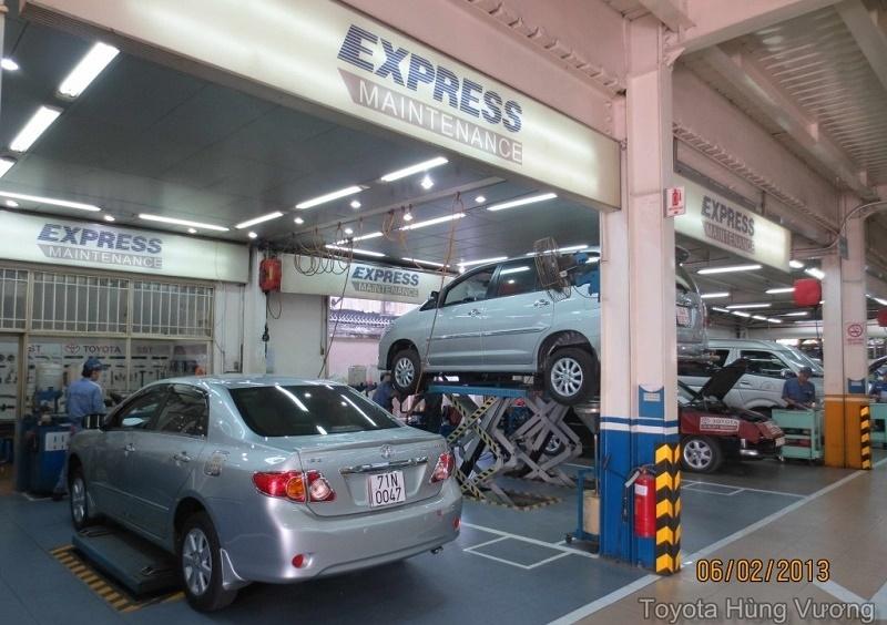 Đại lý Toyota Hùng Vương