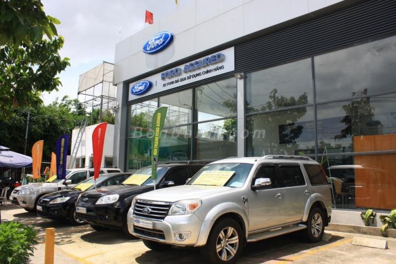 Hình ảnh showroom Ford Bến Thành.