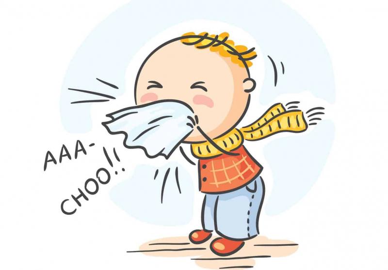 Khi có triệu chứng hắt hơi liên tục thì có thể bạn đã bị cúm