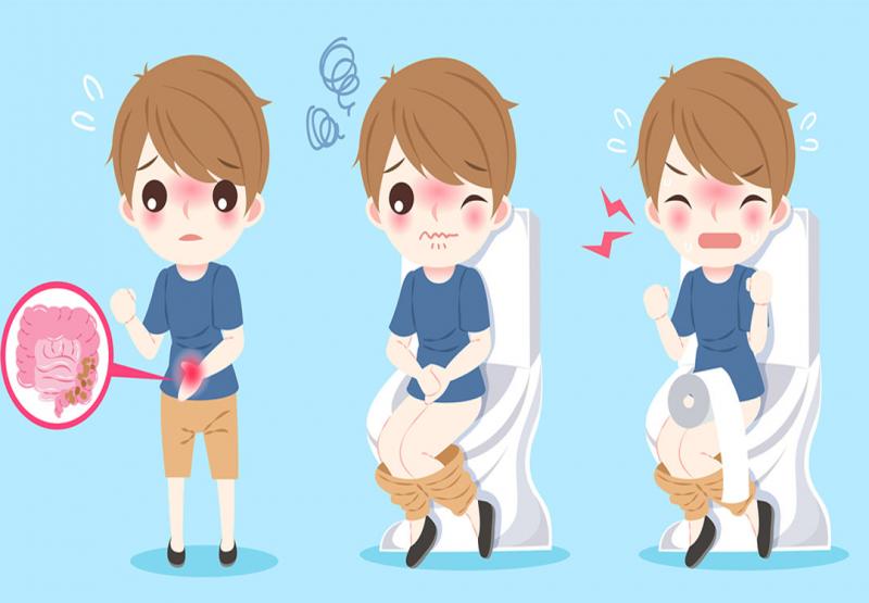 Triệu chứng điển hình của bệnh tiêu chảy là đau bụng, mót rặn và đi ngoài phân lỏng.