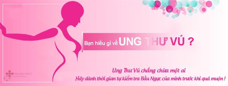 Ung thư vú là một căn bệnh chủ yếu gặp ở phụ nữ