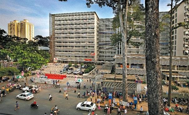 Chợ Rẫy một trong những bệnh viện tuyến cuối lớn nhất