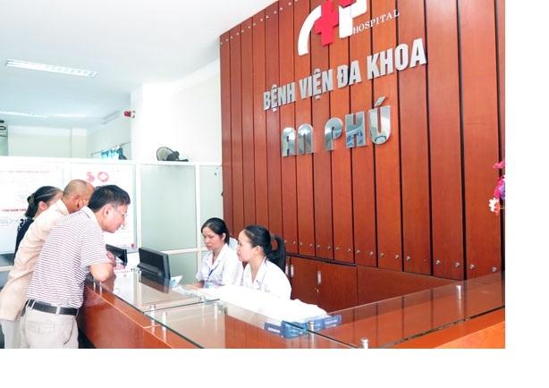 Bệnh viện Đa khoa An Phú là bệnh viện tư nhân lớn tại Thái Nguyên hoạt động dưới hình thức đa khoa