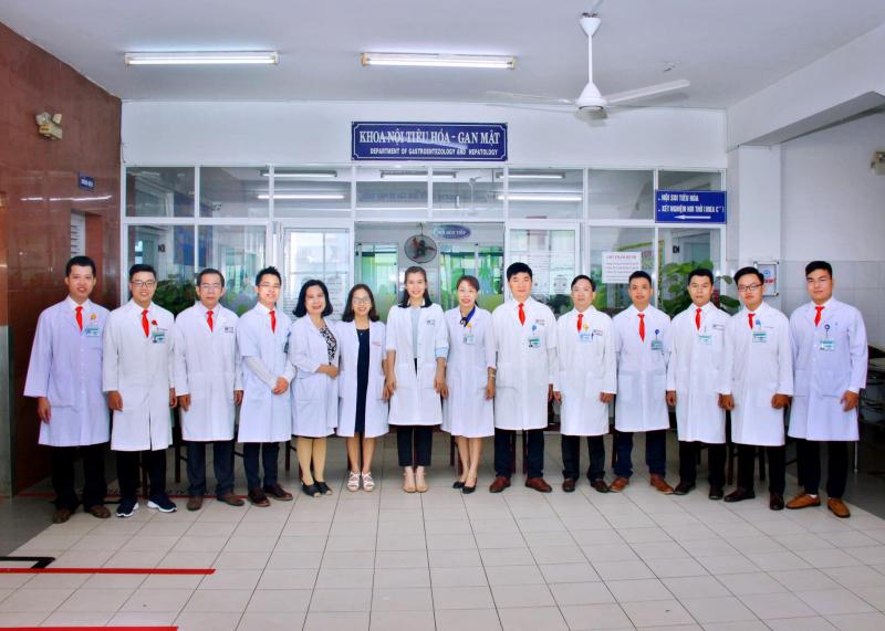 Đội ngũ bác sĩ khoa Nội Tiêu hóa - Gan mật Bệnh viện Đa Khoa Đà Nẵng