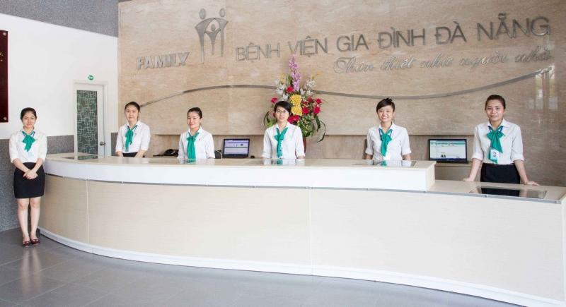 Bộ phận chăm sóc khách hàng bệnh viện Gia Đình Đà Nẵng