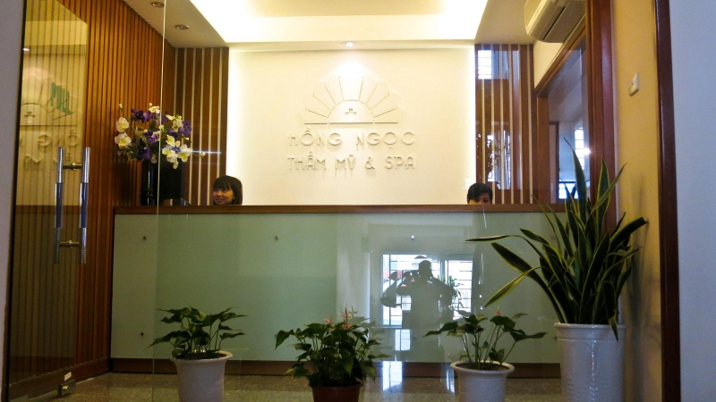 Bệnh viện thẩm mỹ Hồng Ngọc với cơ sở trang thiết bị hiện đại