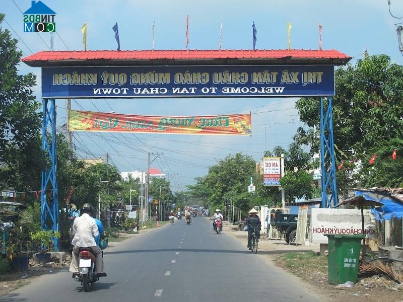 Thị xã Tân Châu, Tỉnh An Giang