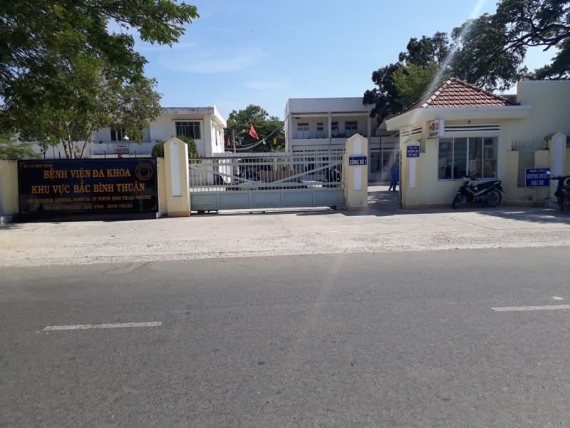 Bệnh Viện Đa Khoa Khu Vực Bắc Bình Thuận