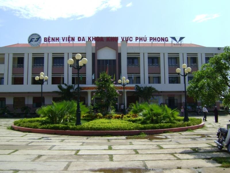 Bệnh viện đa khoa khu vực Phú Phong (Bình Định)