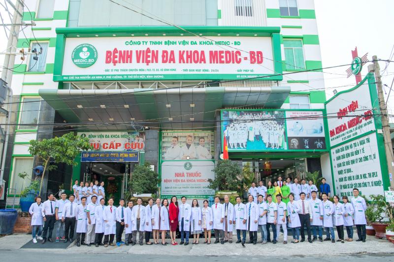 Các bác sĩ tại Bệnh viện Đa Khoa Medic Bình Dương