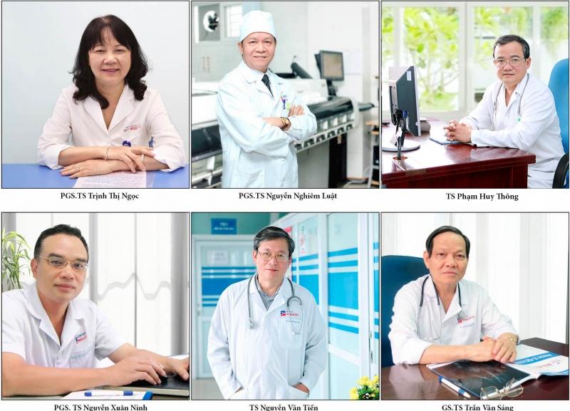 Đội ngũ bác sĩ đầu ngành của Bệnh viện Đa khoa MEDLATEC