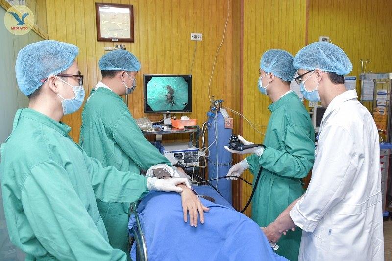 Nội soi dạ dày, đại tràng không đau tại bệnh viện Medlatec