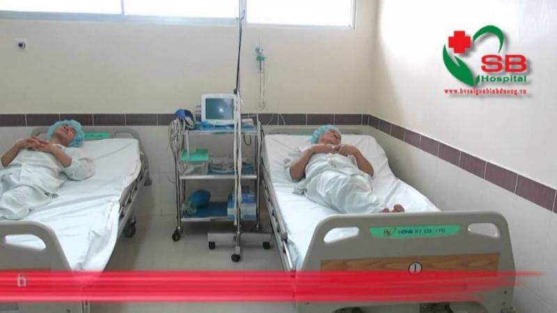 Không gian bên trong phòng bệnh của bệnh viện đa khoa Sài Gòn Bình Dương