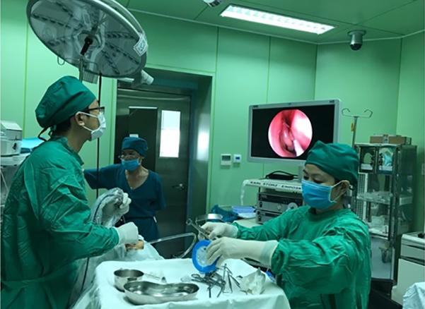 Những ca phẫu thuật khó về Tài Mũi Họng đều được các bác sĩ xử lý