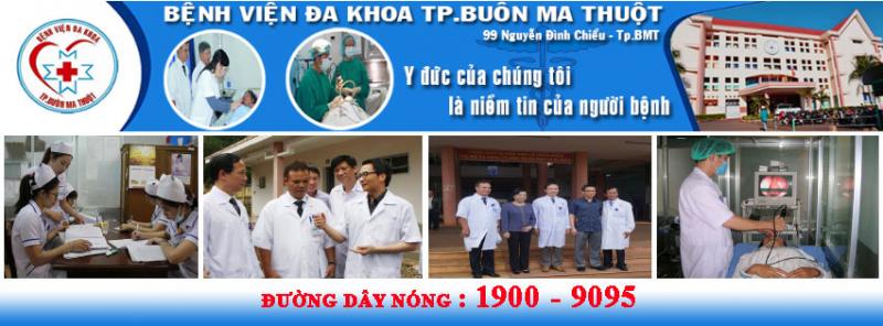 Bệnh viện đa khoa Tp. Buôn Ma Thuột