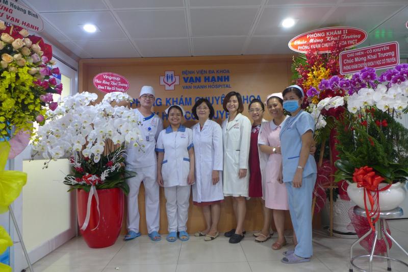 Đội ngũ bác sĩ giàu kinh nghiệm tại Đa khoa Vạn Hạnh