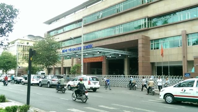 Đường Hồng Bàng trục đường chính chạy qua bệnh viện đại học y dược