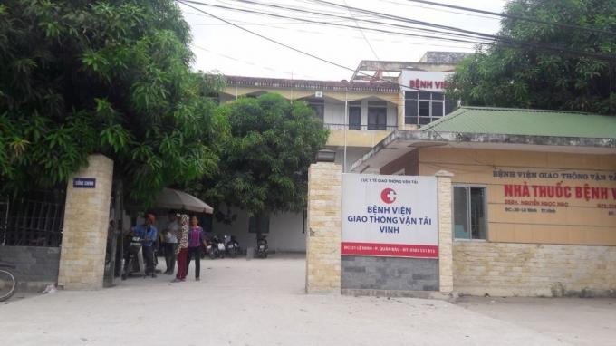 Bệnh viện Giao Thông Vận Tải Vinh
