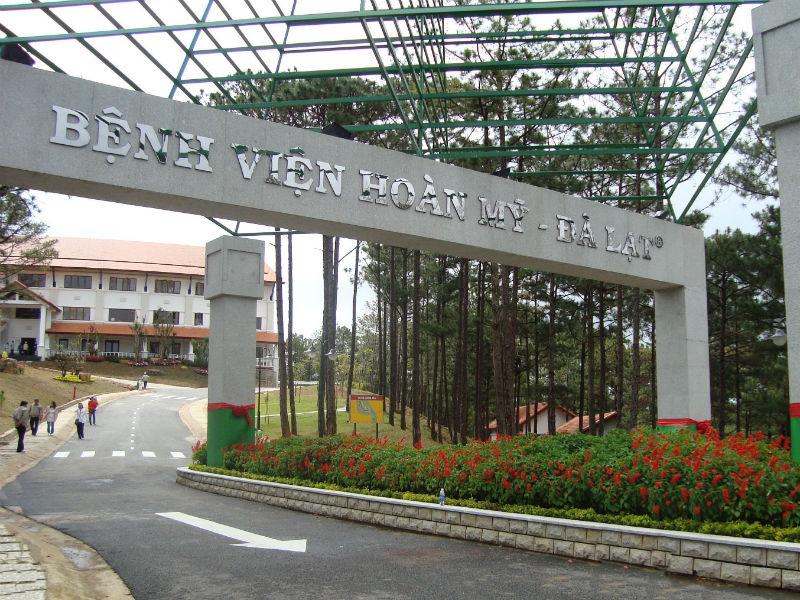 Bệnh viện Hoàn Mỹ Đà Lạt - đẹp như công viên