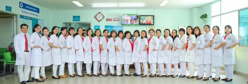 Đội ngũ bác sĩ tại Bẹnh viện Hùng Vương