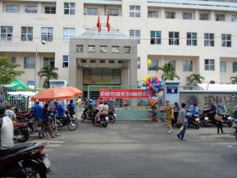 Hình ảnh bệnh viện Hùng Vương