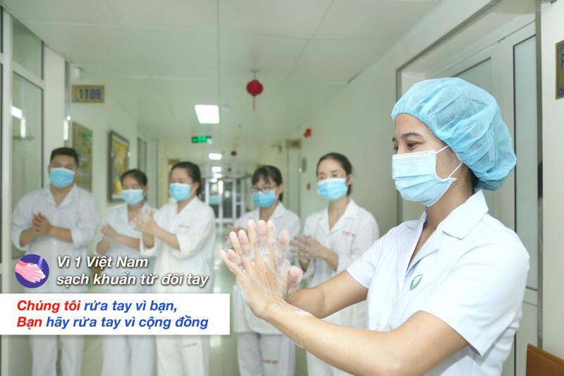 Vì một Việt Nam sạch khuẩn từ đôi tay