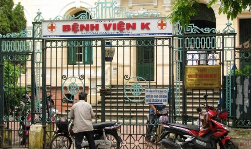 Bệnh viện K  là cơ sở chuyên khoa hàng đầu về phòng chống ung bướu