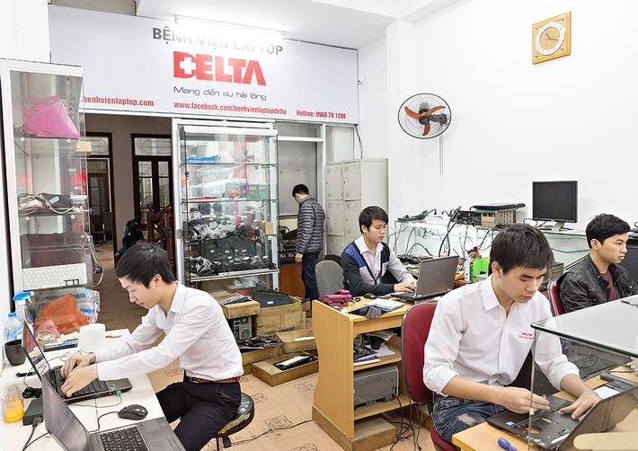 Bệnh viện Laptop DELTA