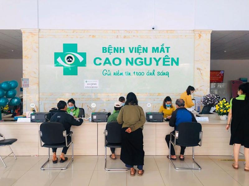Bệnh Viện Mắt Cao Nguyên