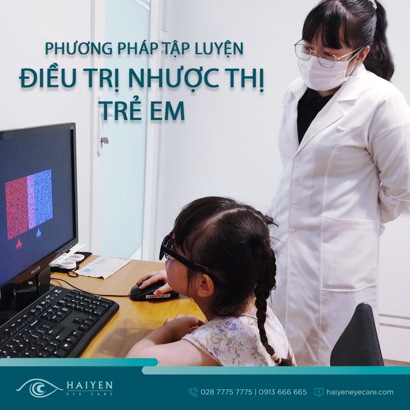 Phương pháp tập luyện Điều trị nhược thị trẻ em
