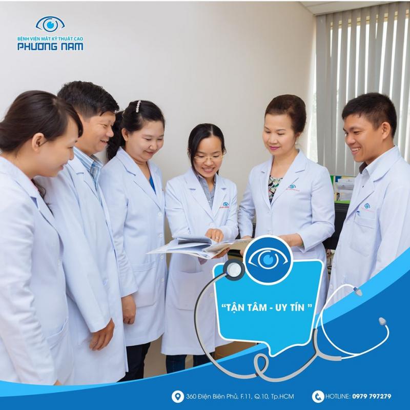 Bệnh viện Mắt kĩ thuật cao Phương Nam
