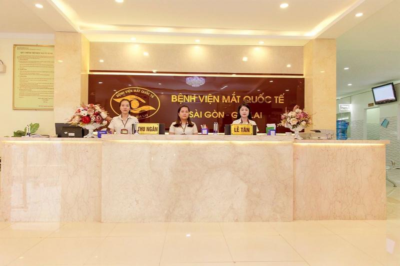 Bệnh Viện Mắt Quốc Tế Sài Gòn - Gia Lai