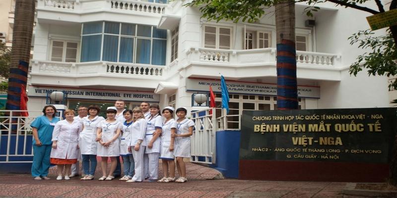 Bệnh viện mắt quốc tế Việt - Nga