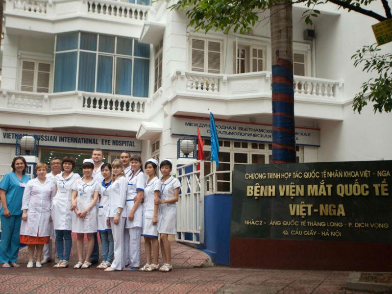 Bệnh viện mắt quốc tế Việt Nga tại Hà Nội