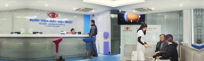 Bệnh viện mắt quốc tế Việt Nhật