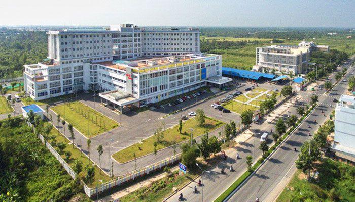 Bệnh viện Nhi đồng Cần Thơ với quy mô rộng lớn