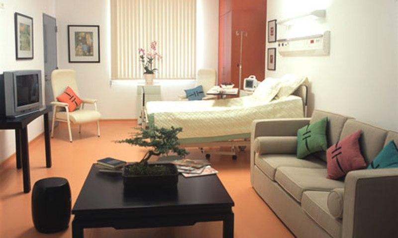 Phòng bệnh hiện đại tiện nghi tại Bv Pháp Việt