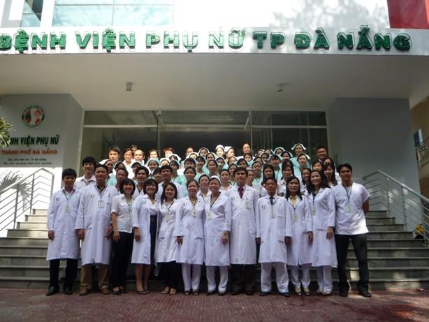 Đội ngũ y bác sĩ Bệnh viện Phụ Nữ TP Đà Nẵng