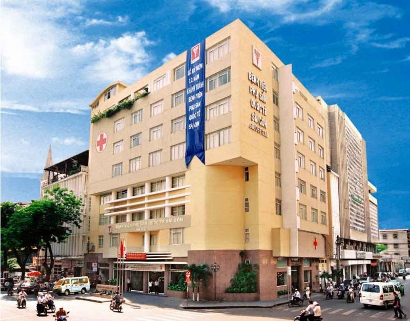 Bệnh viện được xây dựng khang trang, nằm trong trung tâm thành phố